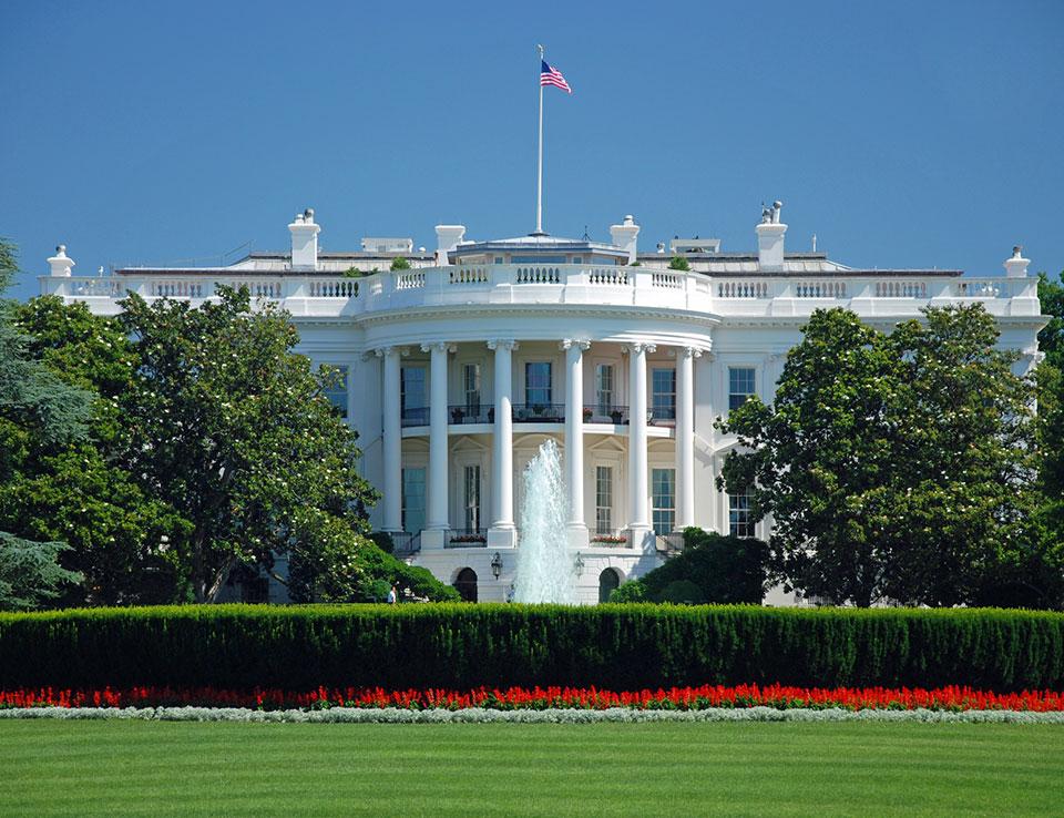 The White House at Washington, DC