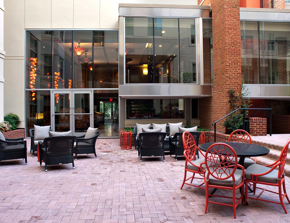 Al Fresco Dining at Morrison-Clark Historic Inn & Restaurant - Washington, DC