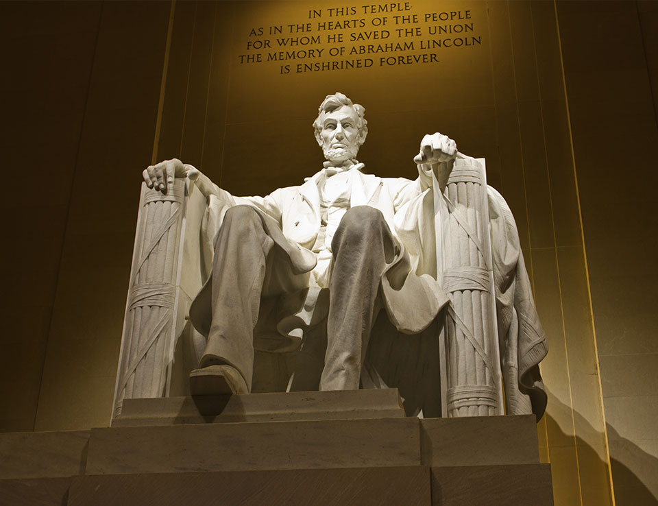 Lincoln Memorial at Washington, DC