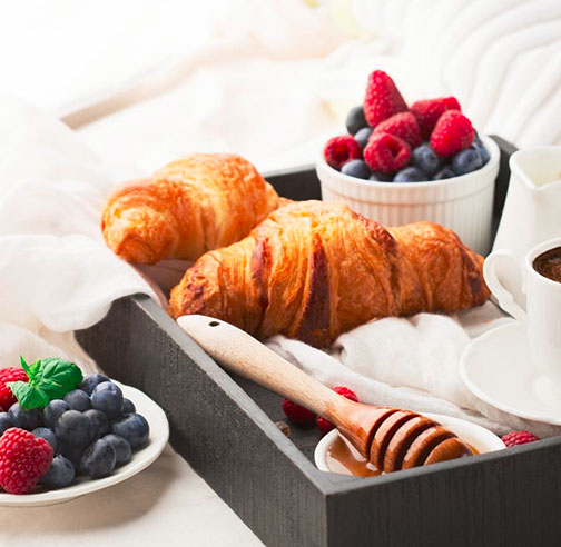 Book Direct For complimentary breakfast for two