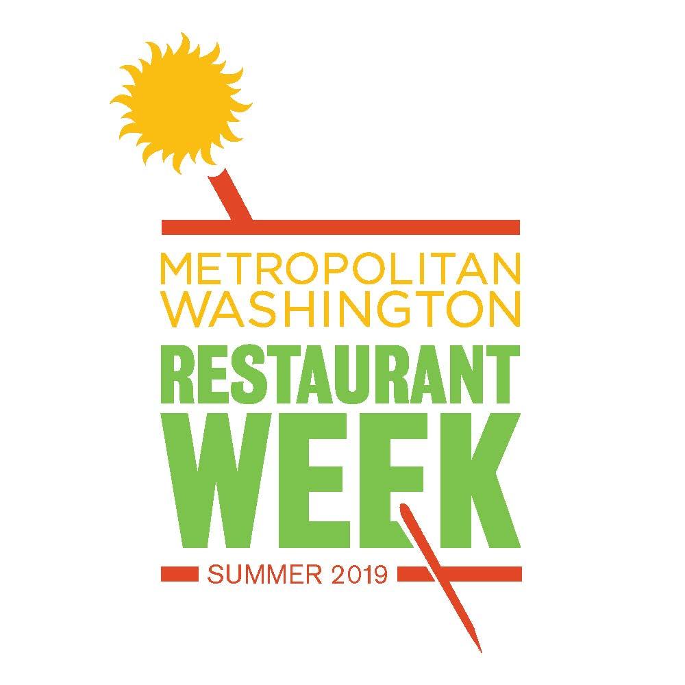 Metropolitan Washington Restaurant Week Summer 2019