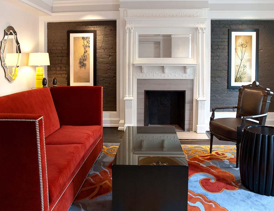 Morrison-Clark Historic Inn & Restaurant Parlor Room, Carriage House and Library